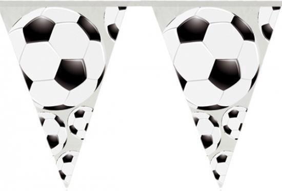 Vlaggenlijn voetbal thema 4 meter
