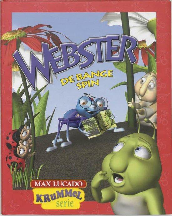 Cover van het boek 'Webster de bange spin'