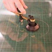 Ronde Glassnijder (2 - 8 mm Dik/65 - 300 mm Diameter )
