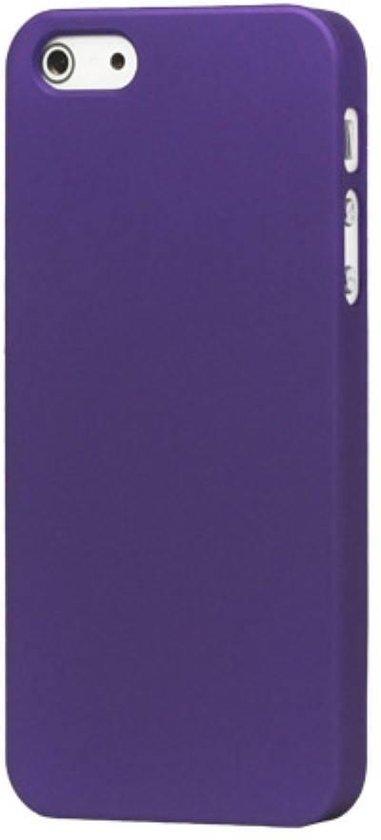 Matte Antivingerprint Hardcase iPhone 5(s)/SE - Paars