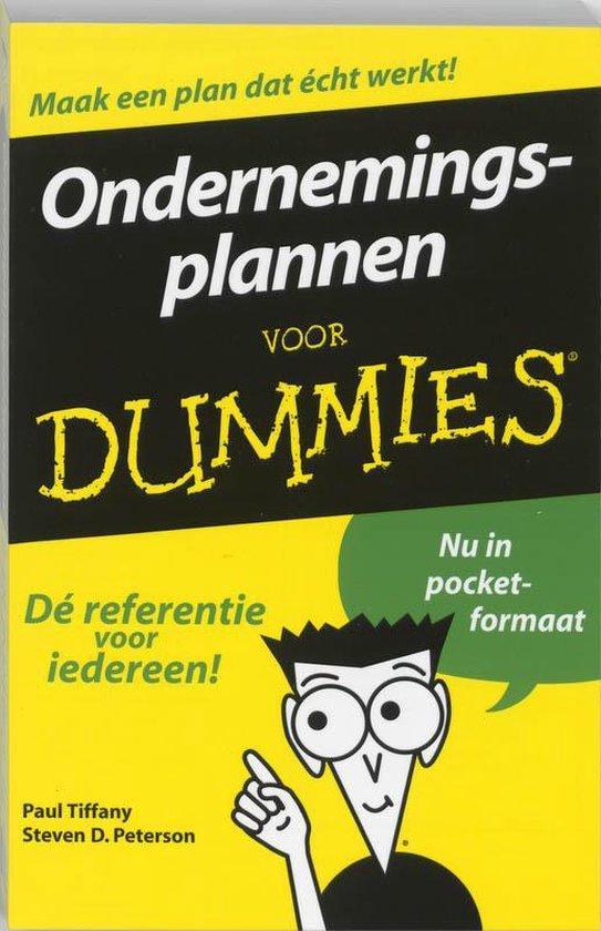 Voor Dummies - Ondernemingsplan voor Dummies - P. Tiffany  