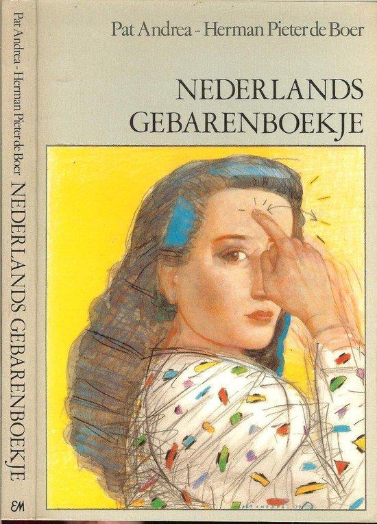 Boek cover Nederlands gebarenboekje van P. Andrea (Paperback)