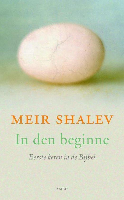 In den beginne - Meir Shalev |