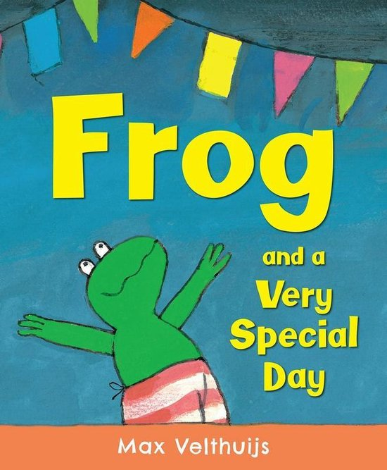 Boek cover Frog and a Very Special Day van Max Velthuijs (Paperback)