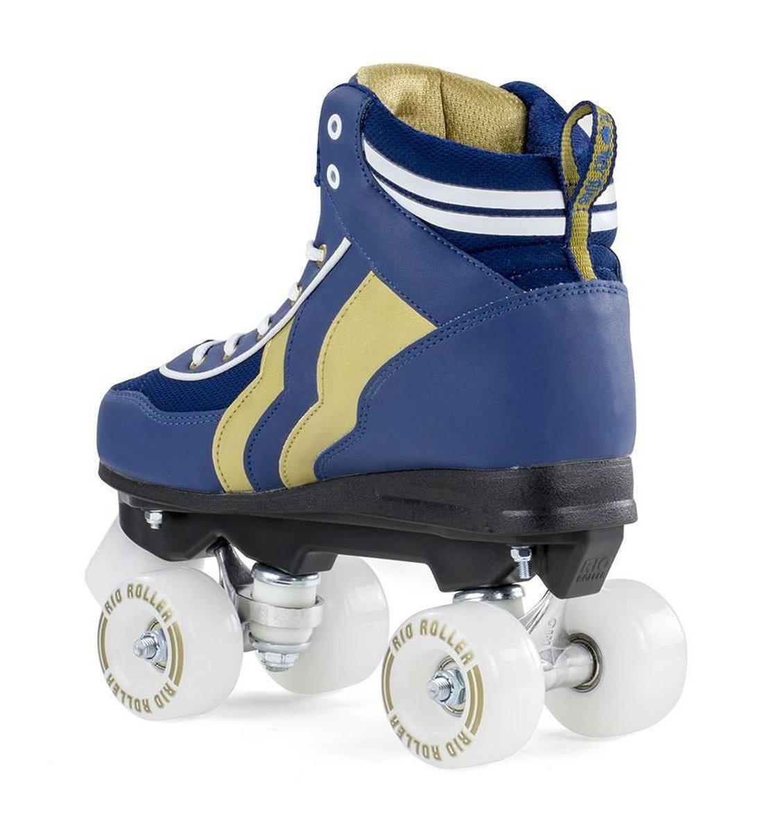 Rio Roller Varsity Blue/Gold Rolschaatsen Maat 40.5