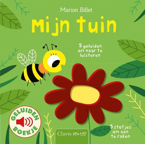 Boek cover Mijn tuin ( geluidenboekje ) van Marion Billet (Onbekend)