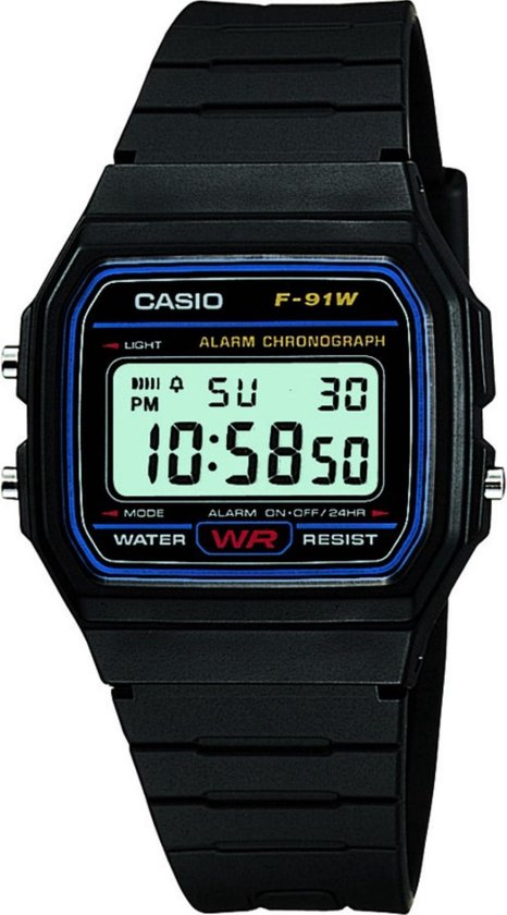 Casio Collection Men F-91W-1Yef - Heren - Horloge -  30 mm