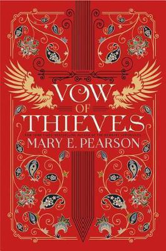 Boek cover Vow of Thieves van Mary E Pearson (Hardcover)