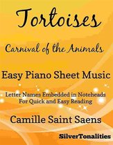 Tortoises Carnival of the Animals Easy Piano Sheet Music