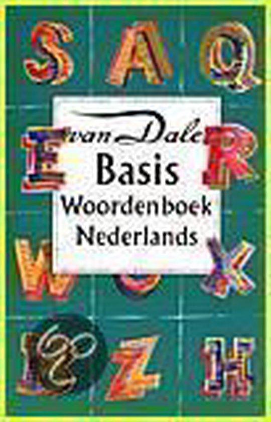 Boek cover Nieuwe spelling Van Dale basiswoordenboek van de Nederlandse taal van M. Verburg (Hardcover)