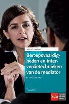 Mediation reeks - Beroepsvaardigheden en interventietechnieken van de mediator