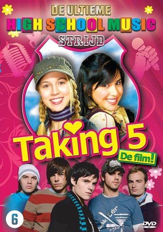 Cover van de film 'Taking 5 - De Ultieme High School Music Strijd'