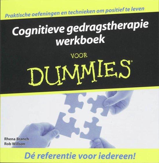 Afbeelding van Cognitieve Gedragstherapie Werkboek Voor Dummies