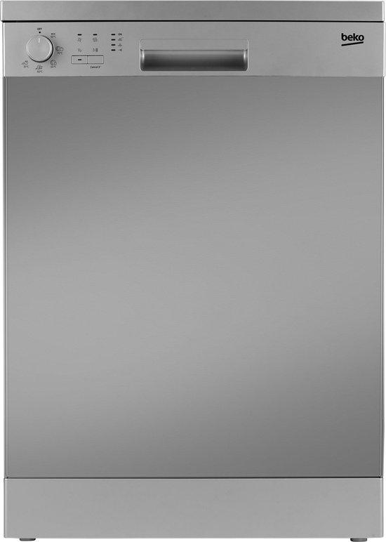 Beko DFN05311X - Vrijstaande vaatwasser - RVS
