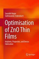 Optimisation of ZnO Thin Films