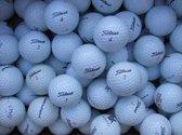 Golfballen gebruikt/lakeballs Titleist mix AAA klasse 100 stuks.