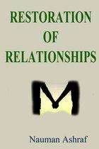 Restoration Of Relationships