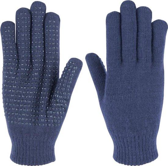 Harry's Horse Magic gloves jr. - donkerblauw