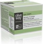 Oliveway oogcrème tegen kringen en wallen