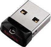 SanDisk Cruzer Fit | 64 GB | USB 2.0A - USB Stick