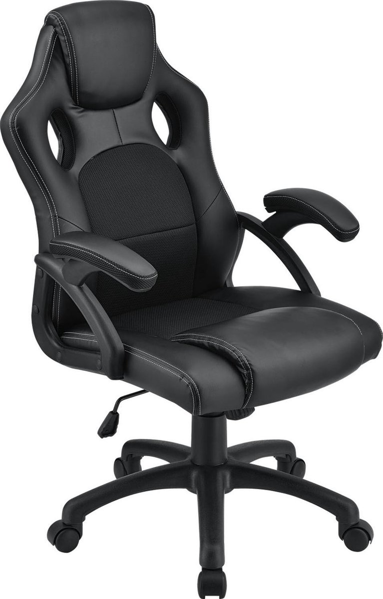 Bureaustoel / Gamingstoel - Zwartt