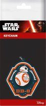 Star wars 7 - rubber keyring - bb-8 6 cm