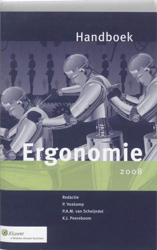 Cover van het boek 'Handboek Ergonomie / 2008 + CD-ROM / druk 1'