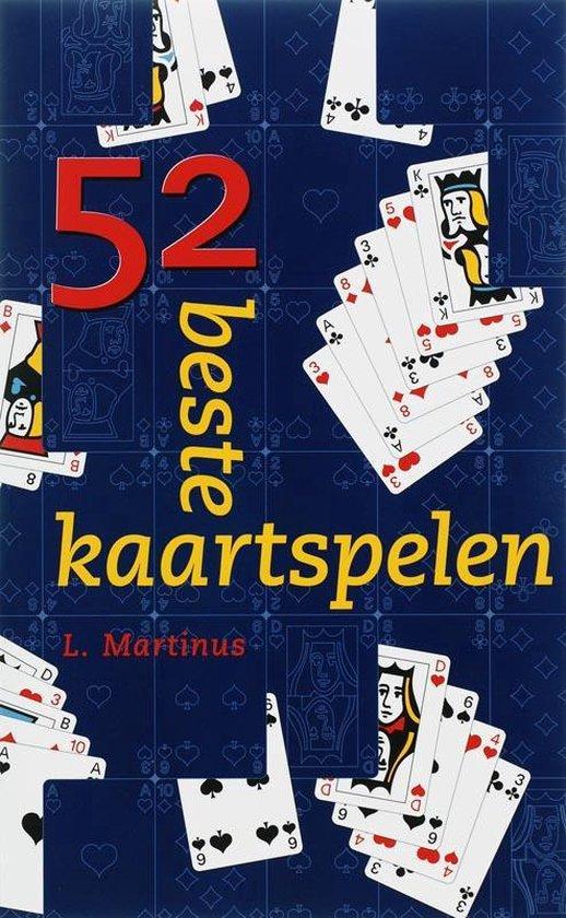 52 beste kaartspelen - L. Martinus |