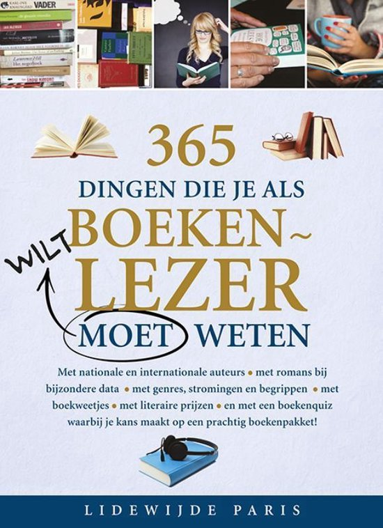 365 dingen die je als boekenlezer moet weten