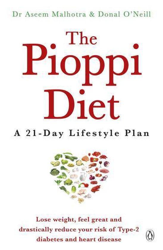 Boek cover The Pioppi Diet van Aseem Malhotra (Onbekend)