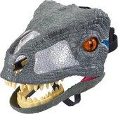 Jurassic World Hap & Brul Masker Velociraptor Blue