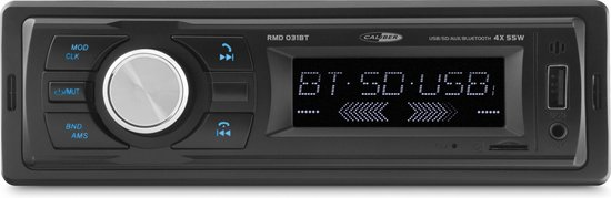 Caliber RMD031BT - Autoradio - FM radio met bluetooth  - Zwart