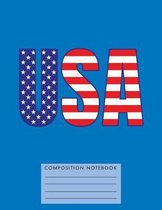 USA Composition Notebook