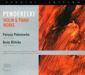 Penderecki: Violin & Piano Works