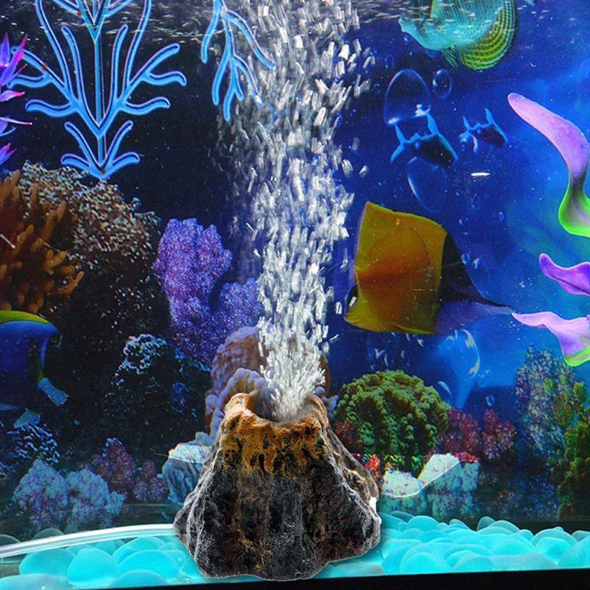 ProAqua Vulkaan Decoratie - Bubbels effect - Aquarium decoratie ornamenten