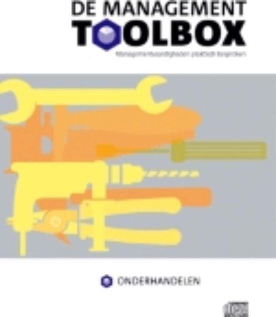 Cover van het boek 'De Management Toolbox / Onderhandelen' van M. van Zanten en Ronald Buitenhuis
