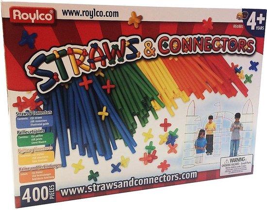 Bouwset Straws & Connectors 400 stuks