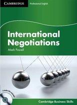 International Negotiations student's book + audio-cd