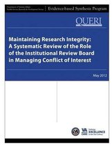Maintaining Research Integrity