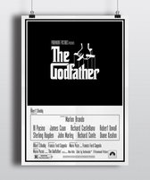 Poster film The Godfather 1972