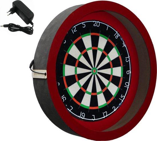 Dragon darts - Sorpresa PRO - dartbord verlichting - inclusief - Winmau blade 5 - dartbord - rood