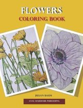 Flowers. Coloring Book