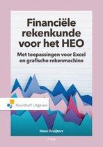 Boek cover Financiele rekenkunde voor het HEO van Hans Gruijters (Paperback)