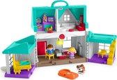 Fisher-Price Little People Handige Helpers Huis - Speelset - Multi Color
