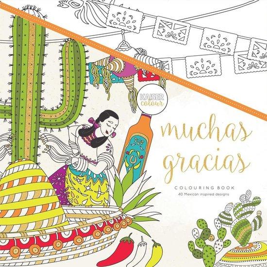 Kaisercraft Kleurboek voor Volwassenen Muchas Gracias - Kaiser Craft |