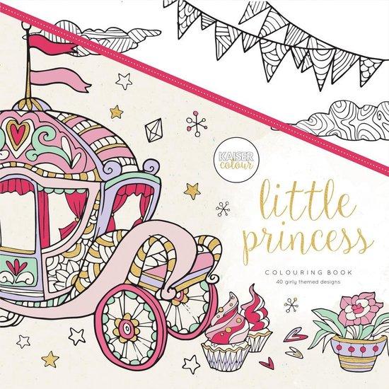Kaisercraft Kleurboek voor Volwassenen Little Princess - Kaiser Craft |