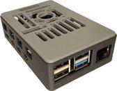 Raspberry Pi 4 behuizing met koelblokjes