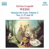 Weiss: Sonatas For Lute Vol.3