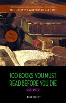 Afbeelding van 100 Books You Must Read Before You Die - volume 2 [newly updated] [Ulysses, Moby Dick, Ivanhoe, War and Peace, Mrs. Dalloway, Of Time and the River, etc] (Book House Publishing)