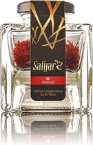 Saffraan Safyar Diamond 5 gram - Glazen pot. Perfect voor paella of risotto